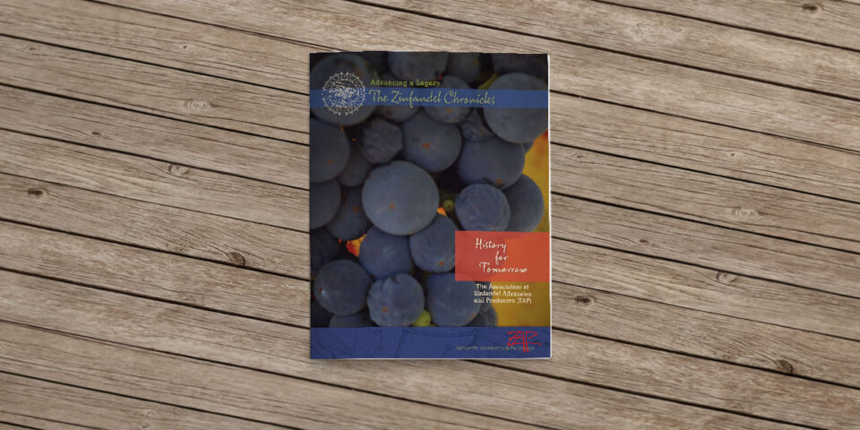 Zinfandel Advocates & Producers Heritage Vineyard – Binder